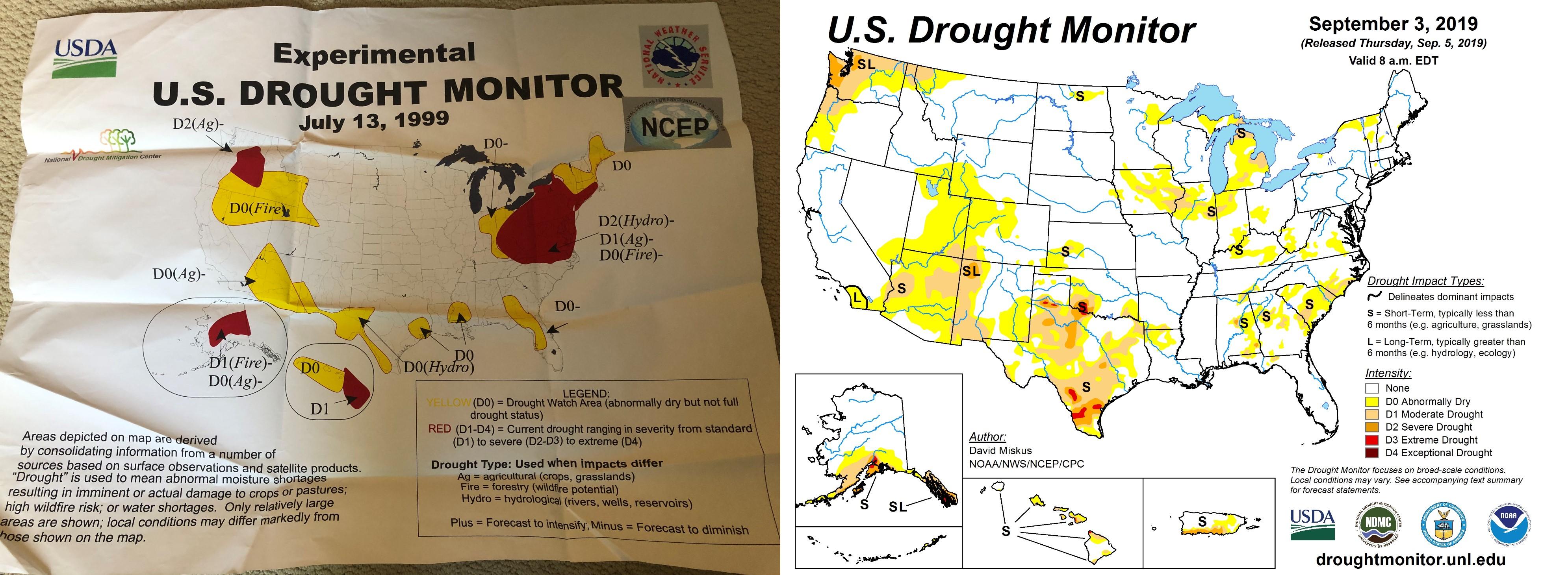 U.S. Drought Monitor celebrates its 20th year