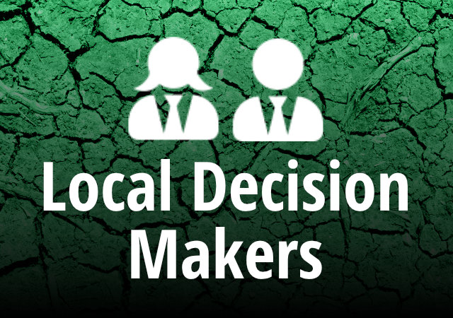 local decision makers